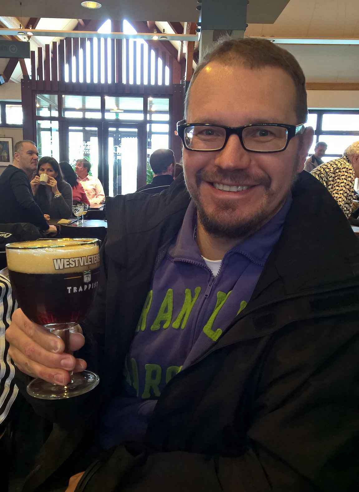 Westvleteren XII - maailman paras olut on parasta pääkallopaikalla.