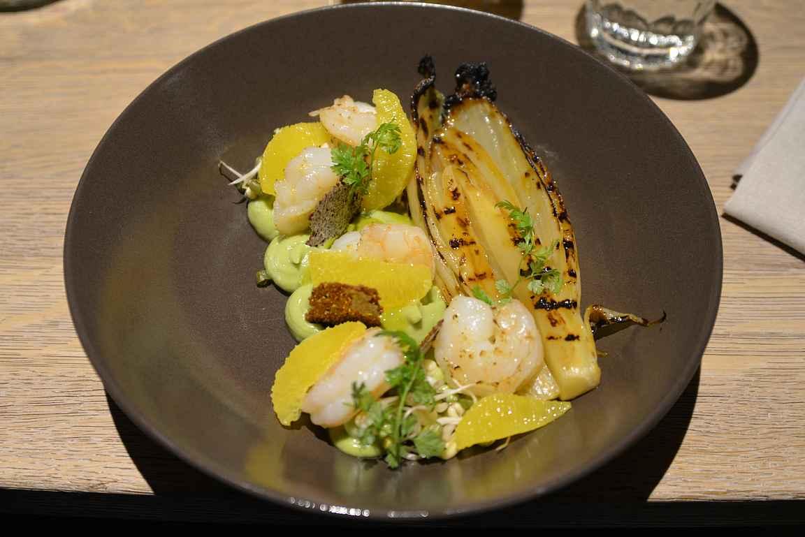 Kaks Kokka ei tee poikkeusta tallinnalaiseen keittiökulttuuriin - annoksissa on houkuttelevasti eri värejä esillä.