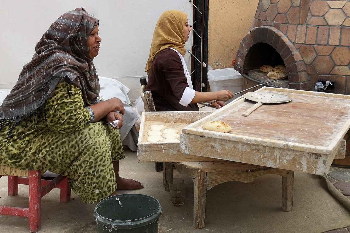 Hotellimme leipurit tarjosivat kuvauspalkkioksi itselle tuoretta leipää.