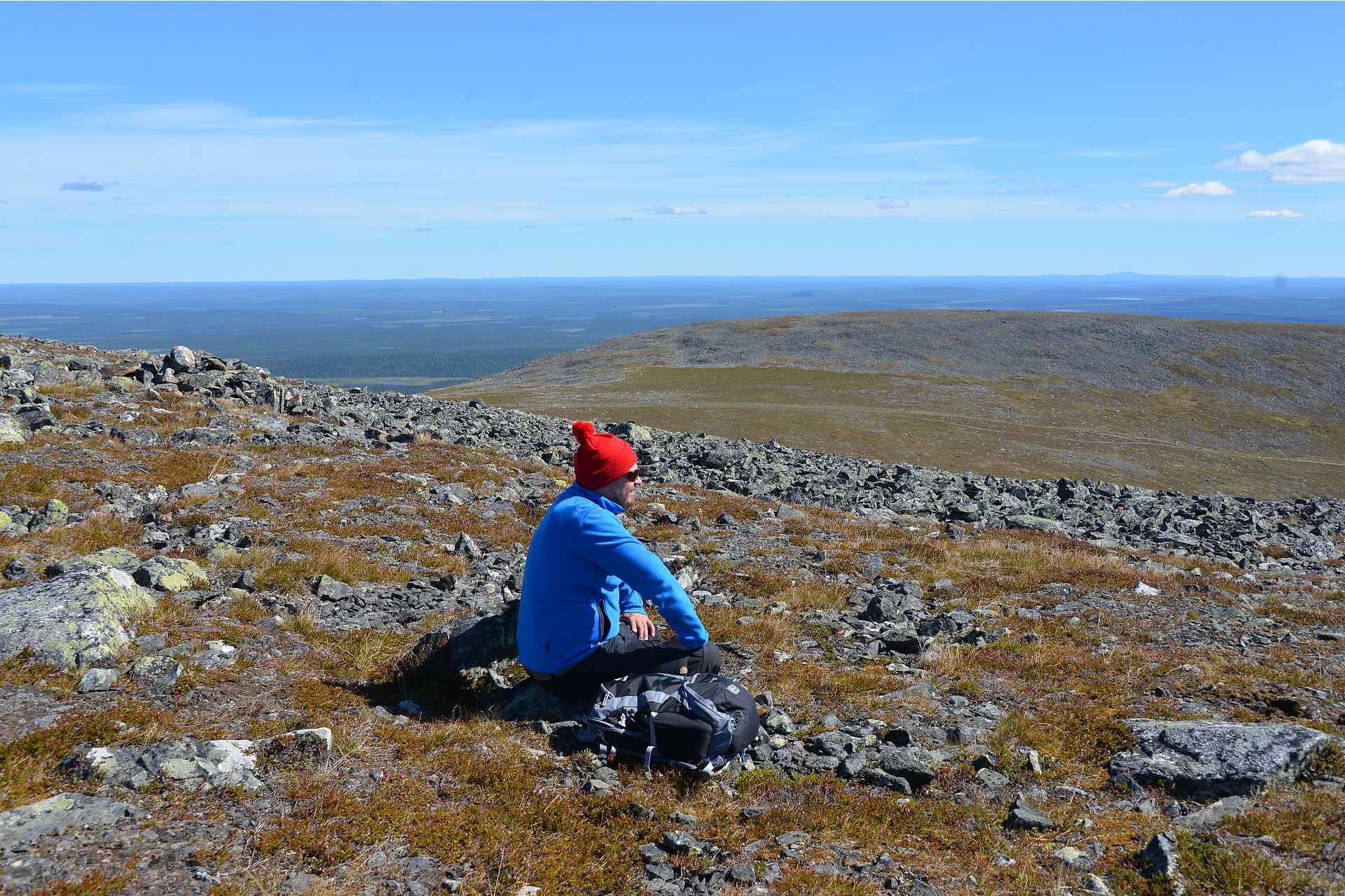 Pallas-Ylläksen kansallispuistossa on monia eri patikointireittivaihtoehtoja.