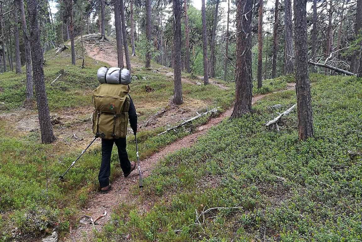 Lemmenjoen kansallispuisto on parhaimmillaan pidemmillä vaelluksilla.