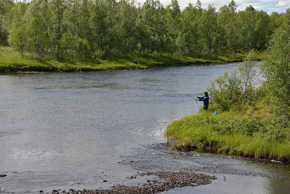 Sormussuvanto ja muut Lapin erämaajoet houkuttelevat kalastajia vuosittain etelästä arvokaloja narraamaan.