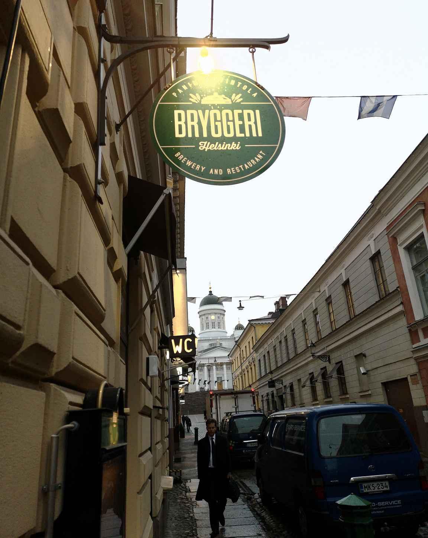 Bryggeri Helsinki on panimoravintola keskellä kaupunkia.