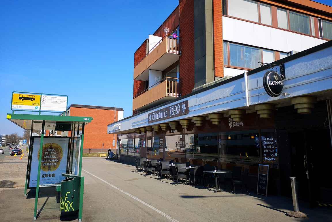 Olutravintola Jano houkuttelee olutmatkalle Oulunkylään.
