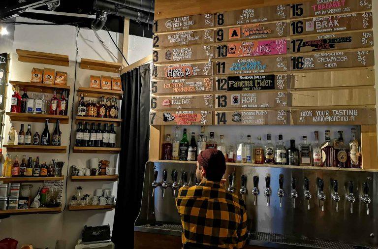 Panema Kalliossa on yksi Suomen parhaista olutravintoloista.