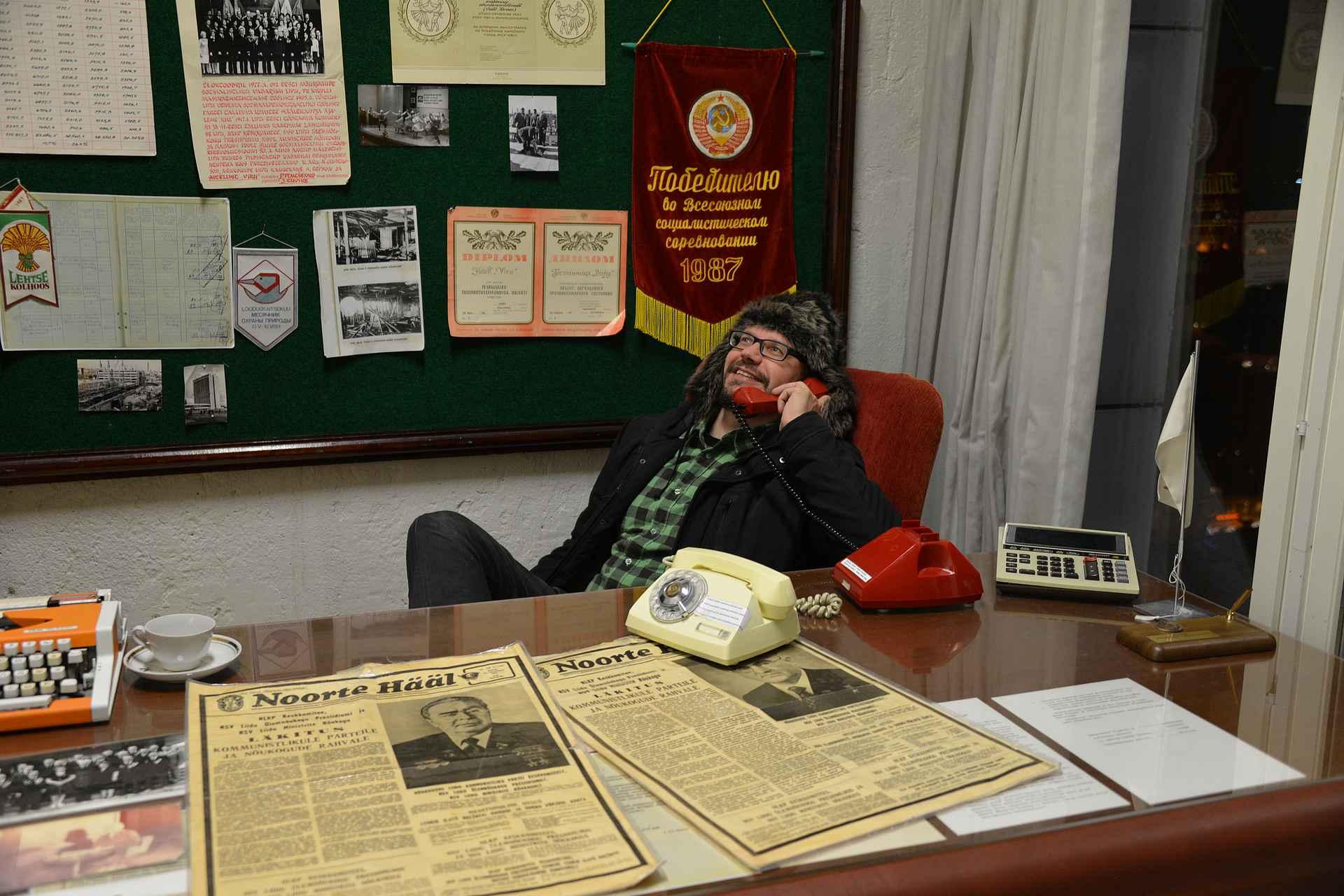 Kuuma linja Moskovaan KGB-huoneesta.