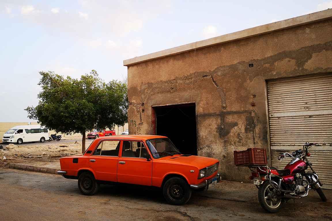 Vaikka yleensä suosin autonvuokrausta, niin Egyptissä se ei tuntunut kovin järkevältä vaihtoehdolta.