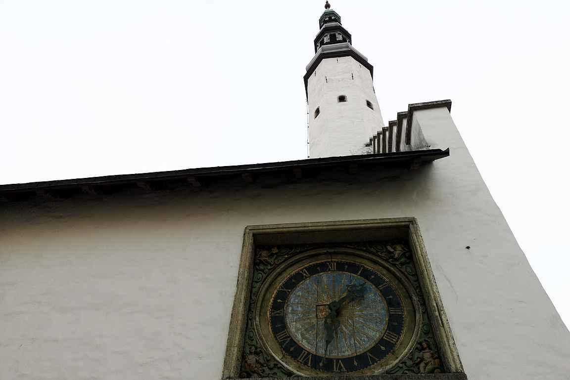 Tallinnan vanhin kello.