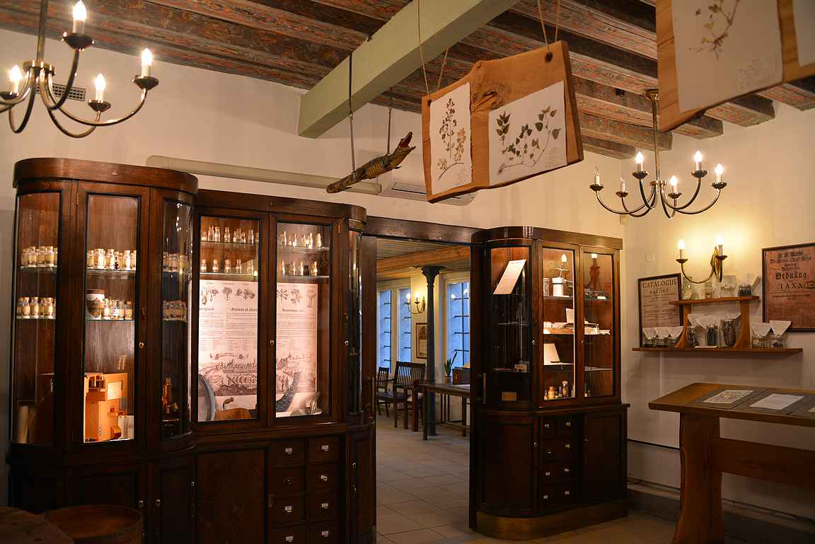 Raadinapteekki on Euroopan vanhin samalla paikalla toimiva apteekki.