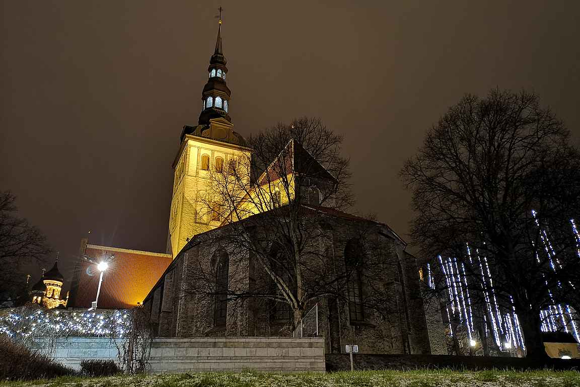 Pyhän Nikolaoksen kirkko.