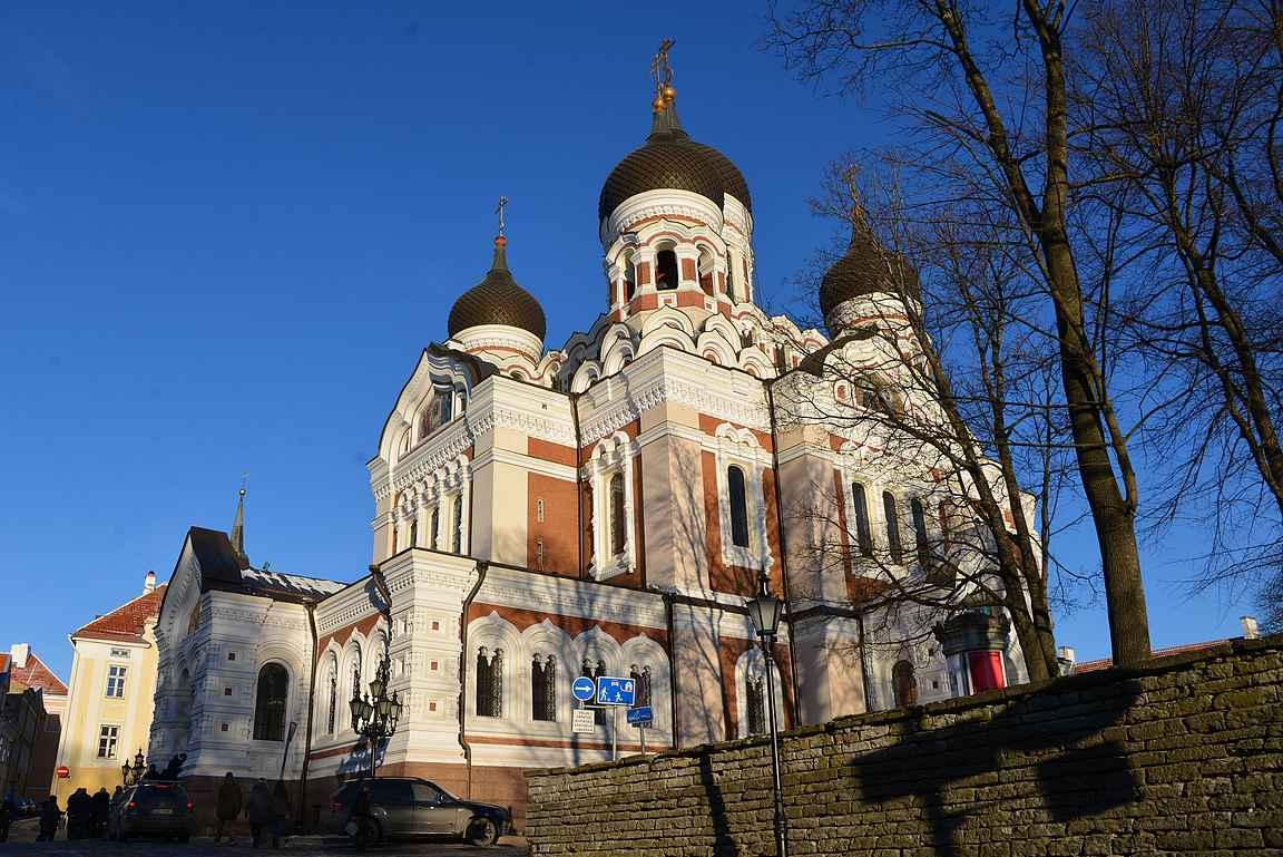 Aleksanteri Nevskin katedraali.