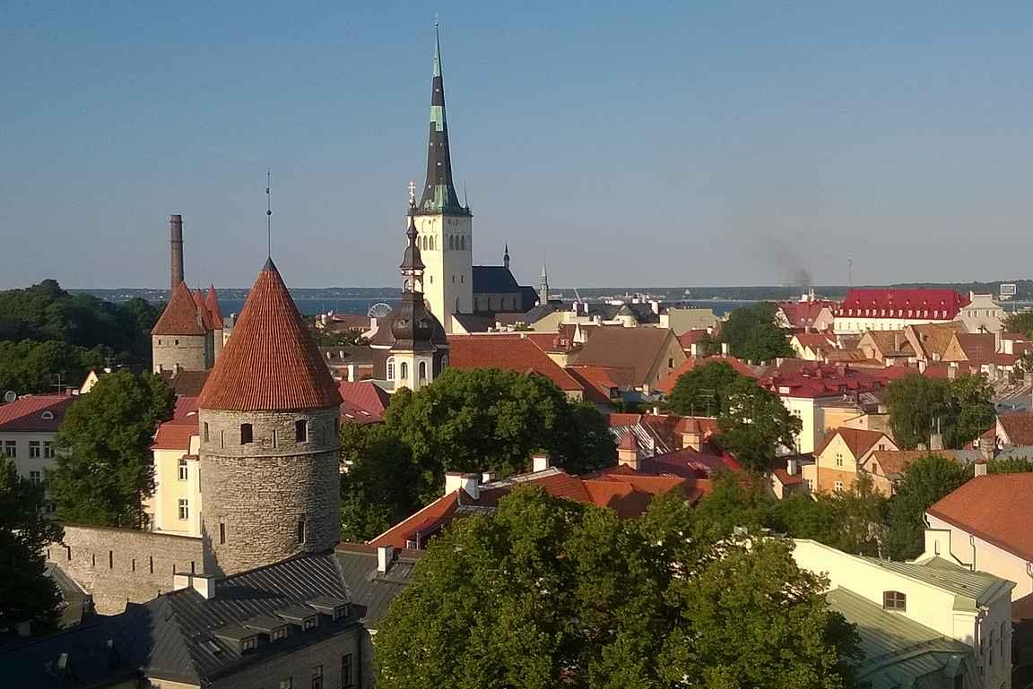 Olavisten kirkko oli Euroopan korkein rakennus vuosina 1549-1625.