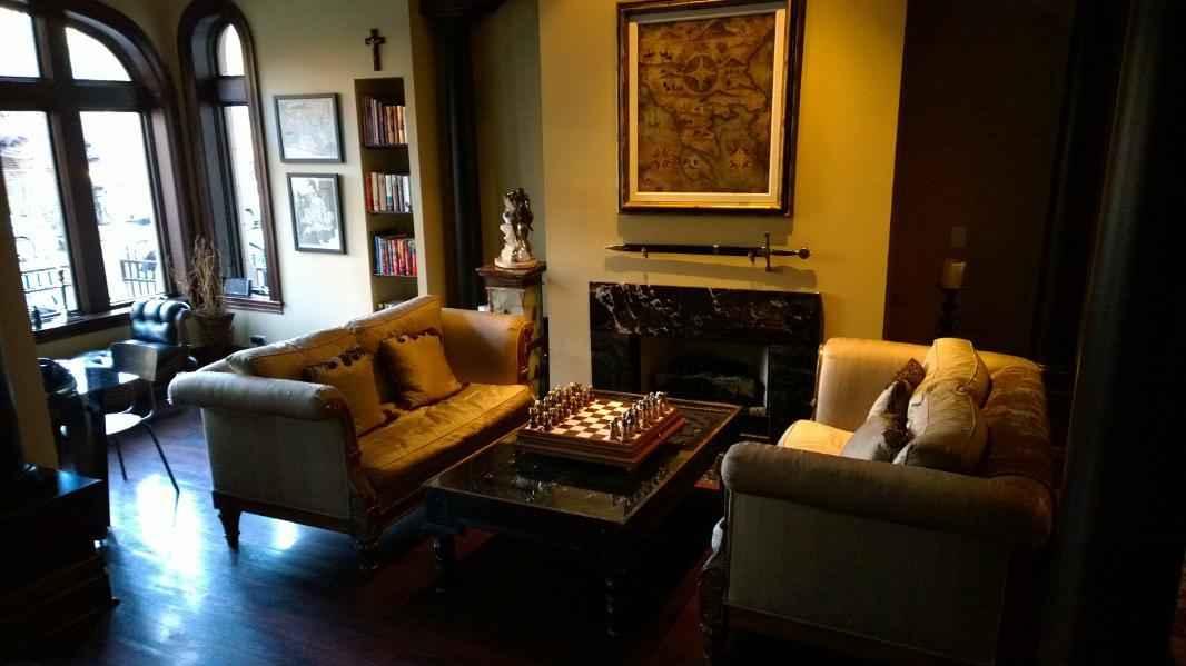 Villa D'Citta Chicagon keskustassa on hinta/laadultaan varsin toimiva majapaikka.