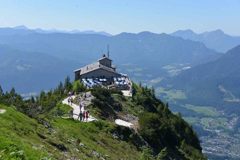 Berchtesgaden - Hitlerin kotkanpesä ja Köningssee-järvi