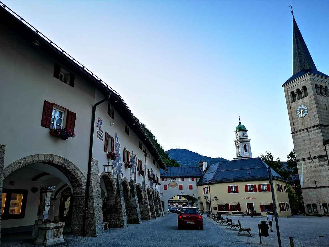 Arkkitehtuuri on varsin kaunista Berchtesgadenissa.