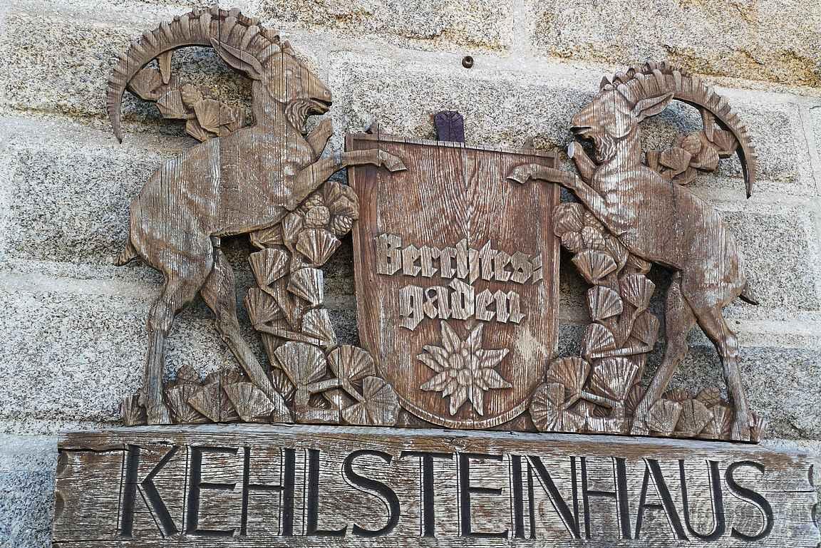 Kehlsteinhaus on täynnä pieniä mielenkiintoisia yksityiskohtia.