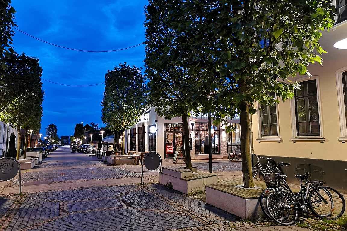Frederician viehättävä keskusta.