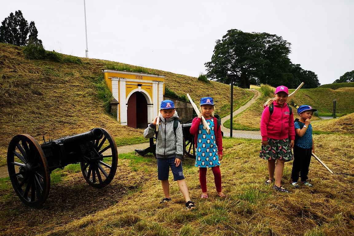 Frederician linnoituksen Prince's Gate on rakennettu vuonna 1753. Ennen prinssin porttia tässä kohtaa linnoitusta oli käytössä puinen portti.