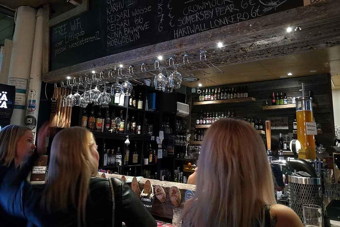Ilahduttavaa oli nähdä, että vaasalaisneidot olivat löytäneet paremmin olutkulttuurin kuin keskimäärin eteläisemmässä Suomessa.