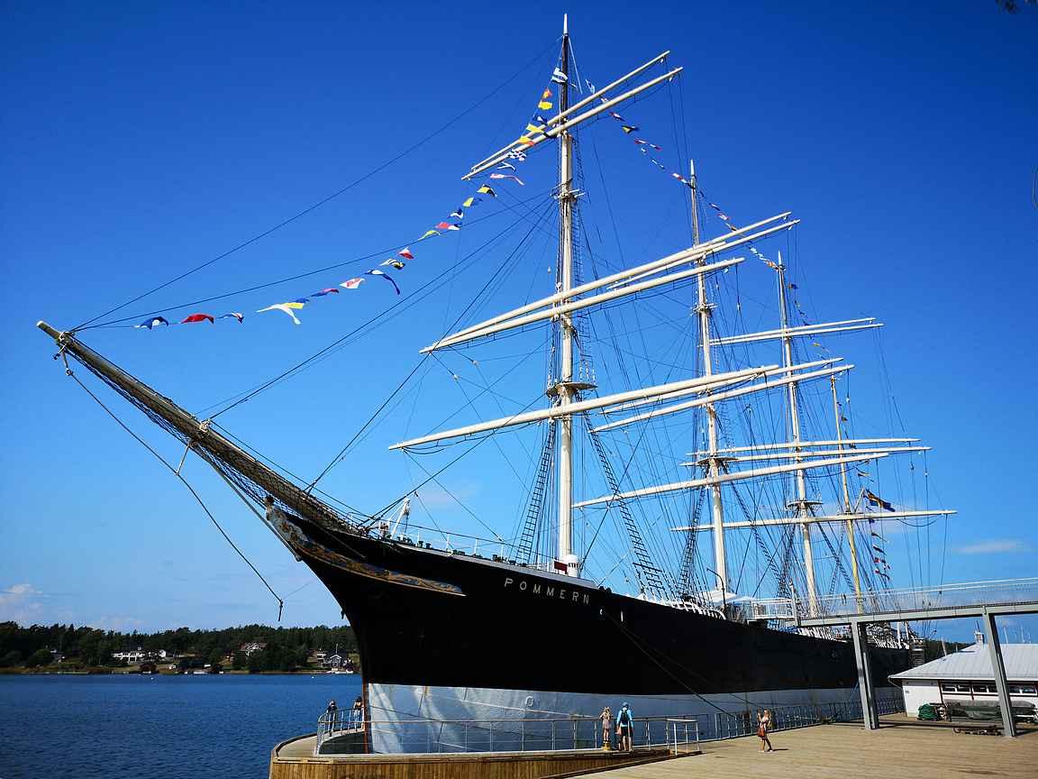 Pommern on Maarianhaminan maamerkki.