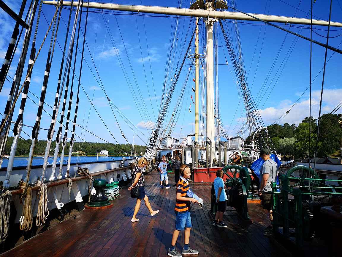 Pommern ja Ahvenanmaan merenkulkumuseo ovat Ahvenanmaan suosituimpia kohteita.