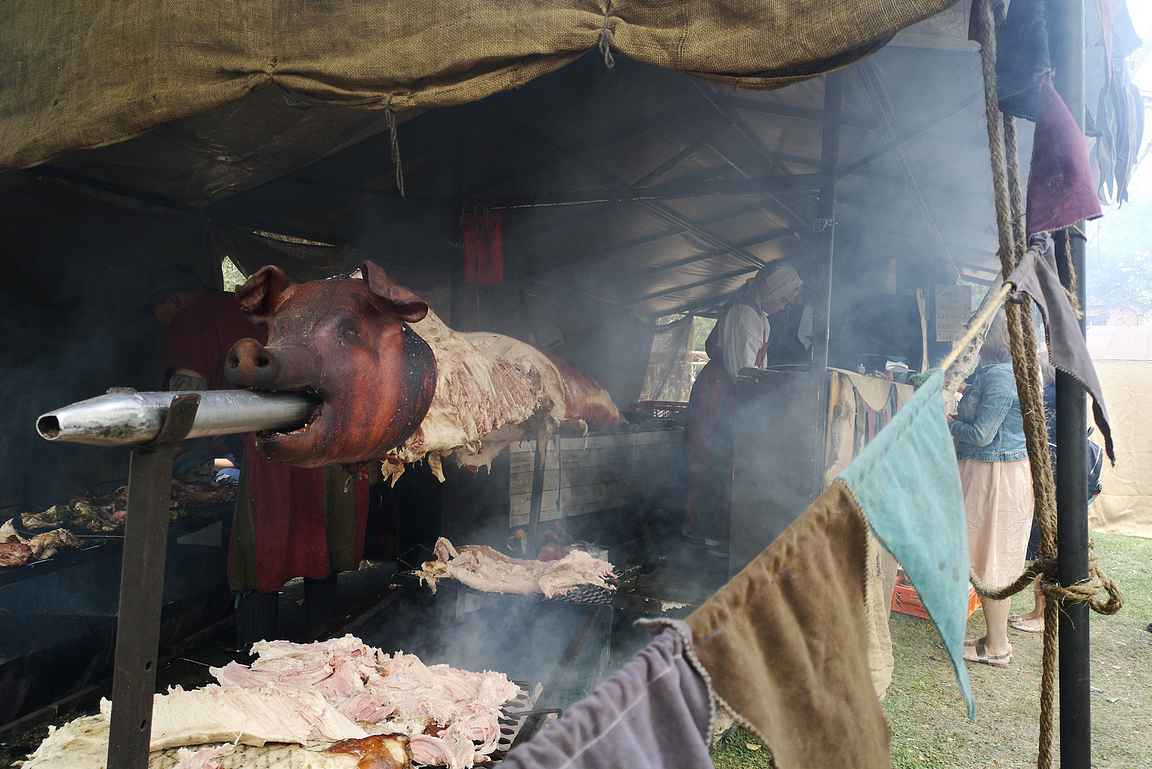 Hakkapeliittatapahtuma tuo 1600-luvun Mustialaan.