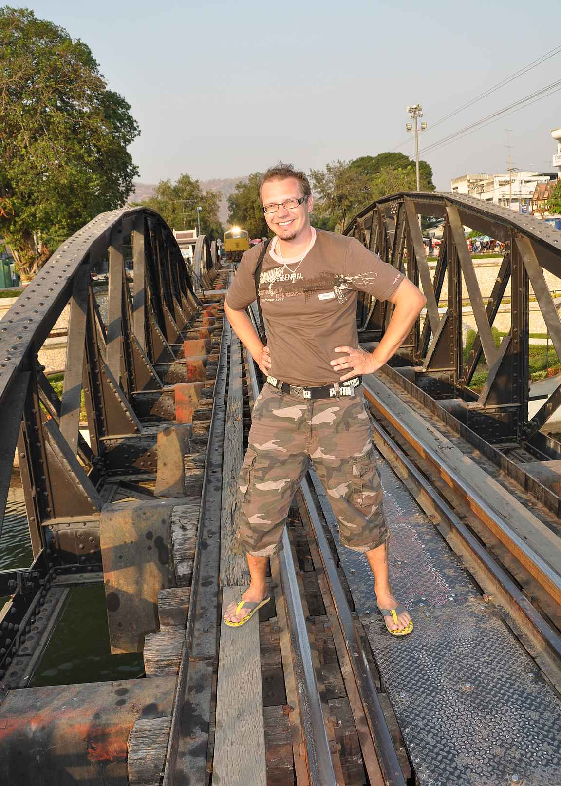 Kymmenen vuotta sitten sillalta olisi helposti pudonnut veteen...