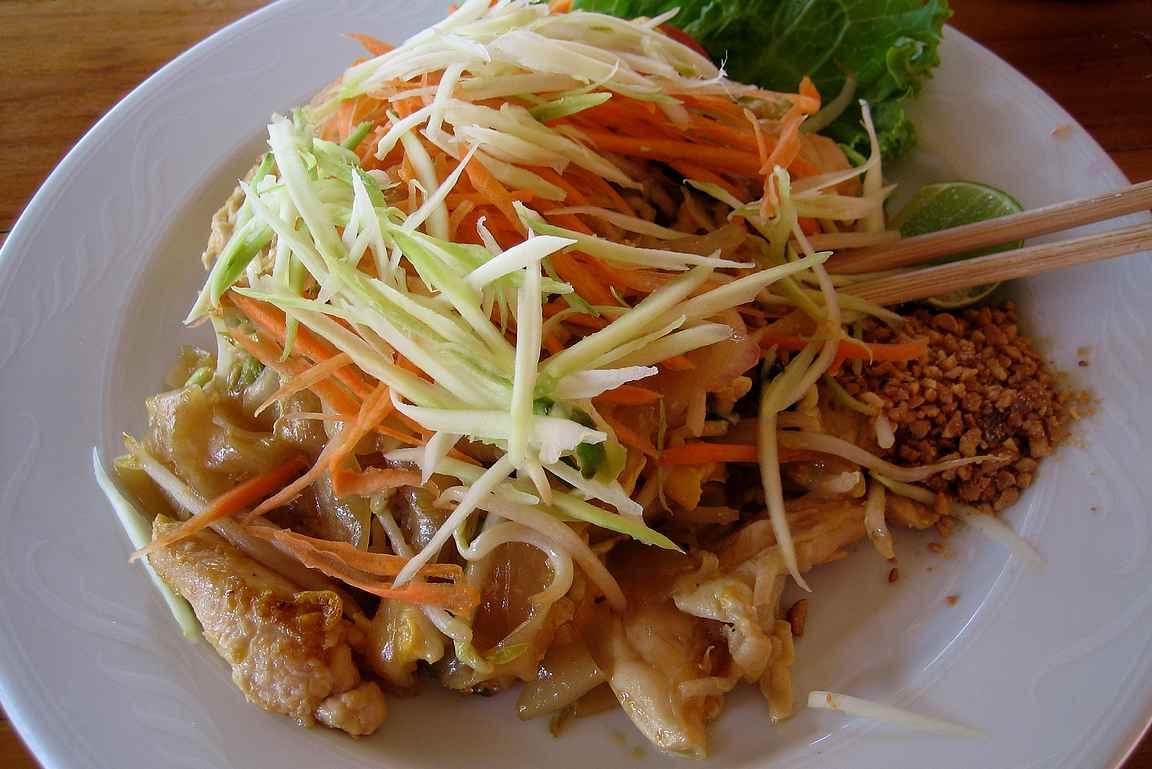 Tulinen thairuoka on itsestä suurta herkkua.