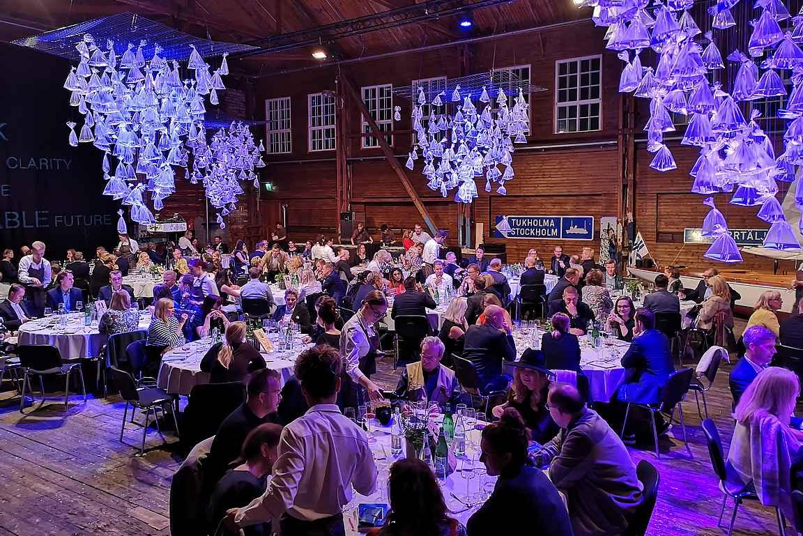 Ruissalon Westin-sali toimii Chef's Menun tapahtumapaikkana.