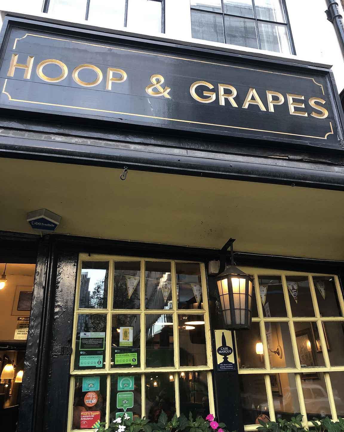 Hoop & Grapes on myöskin takuuvarma valinta muutamalle pintille.