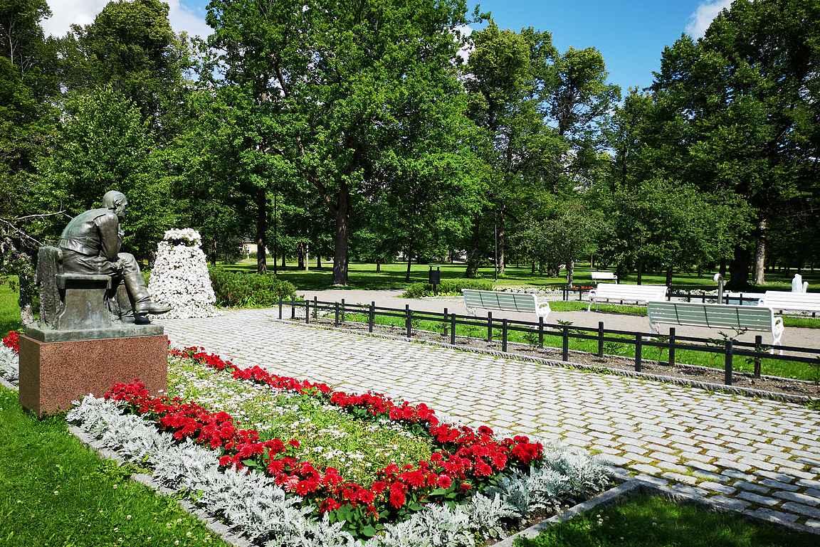 Forssan kansallinen kaupunkipuisto alkaa Kehräämön takapihalta.
