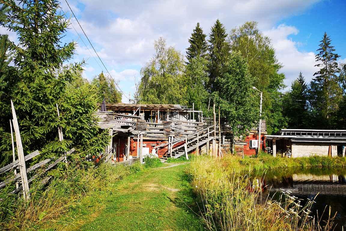 Kievarin Kirnun rakennus on taatusti yksilöllinen.