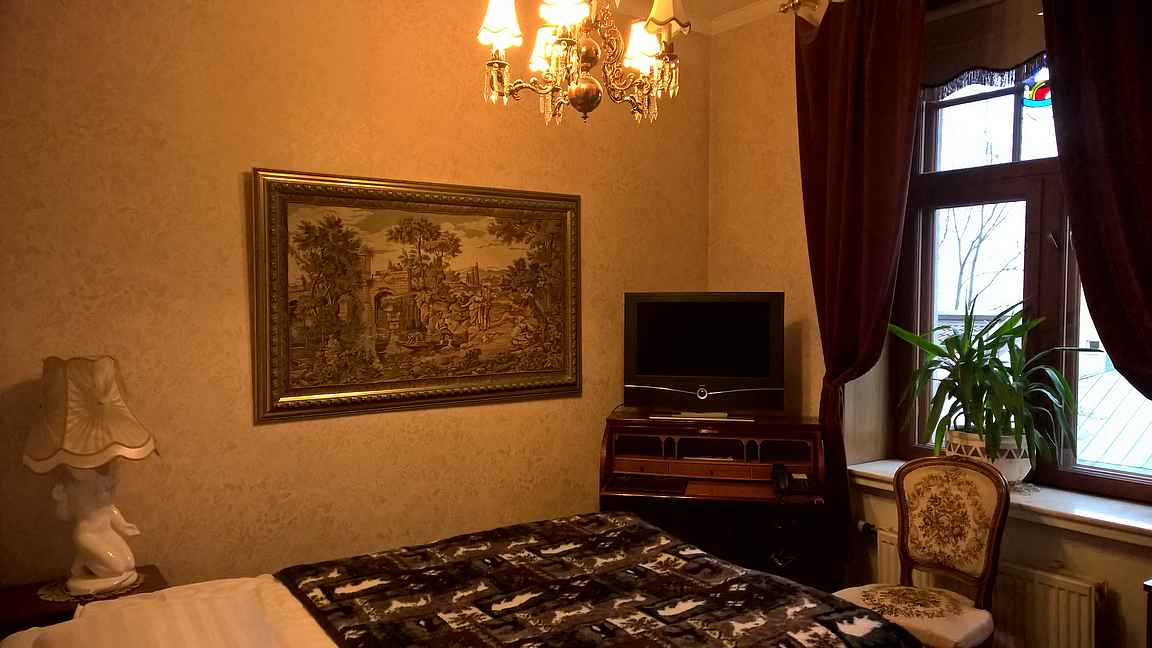 Jokainen Park Hotel Turun huone on yksilöllinen.