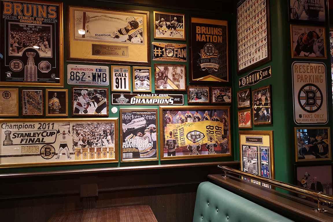 O'Leary's on varsin mukava bostonilaisravintola Holiday Club Caribiassa.