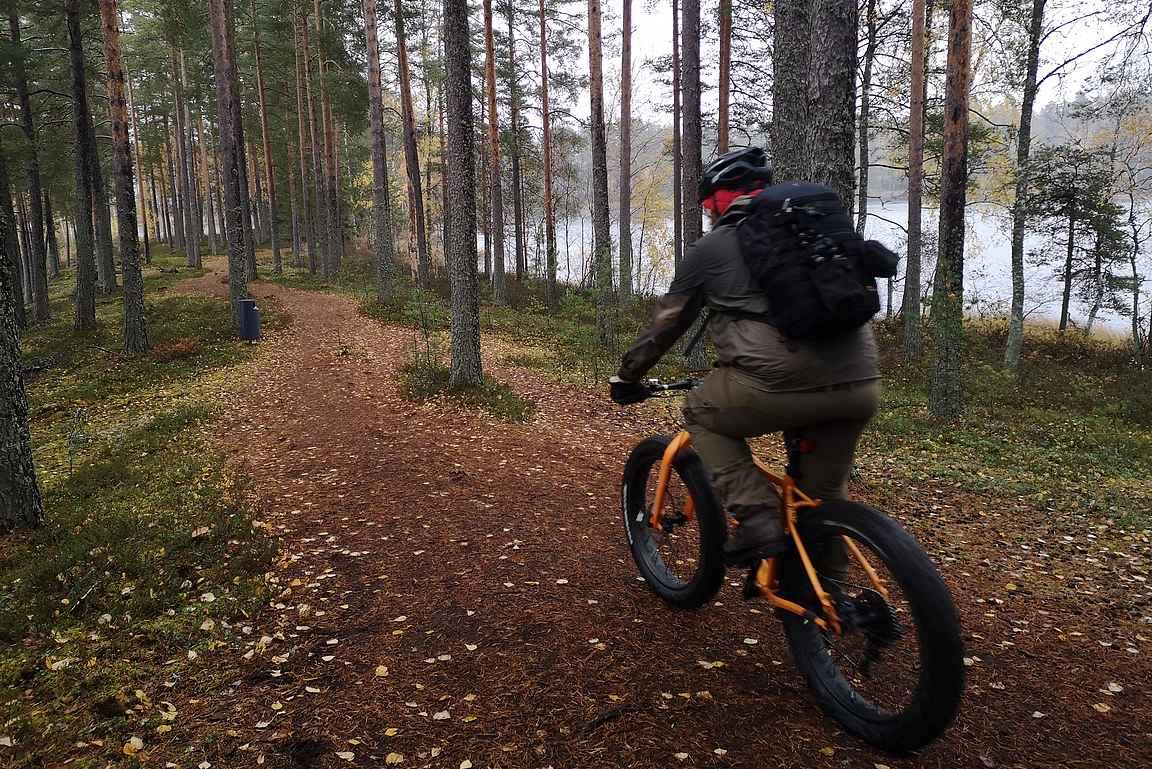 Hämeen Härkätien varrelta löytyy mm. Hämeen luontokeskus ja Eerikkilä Sport & Outdoor Resort.