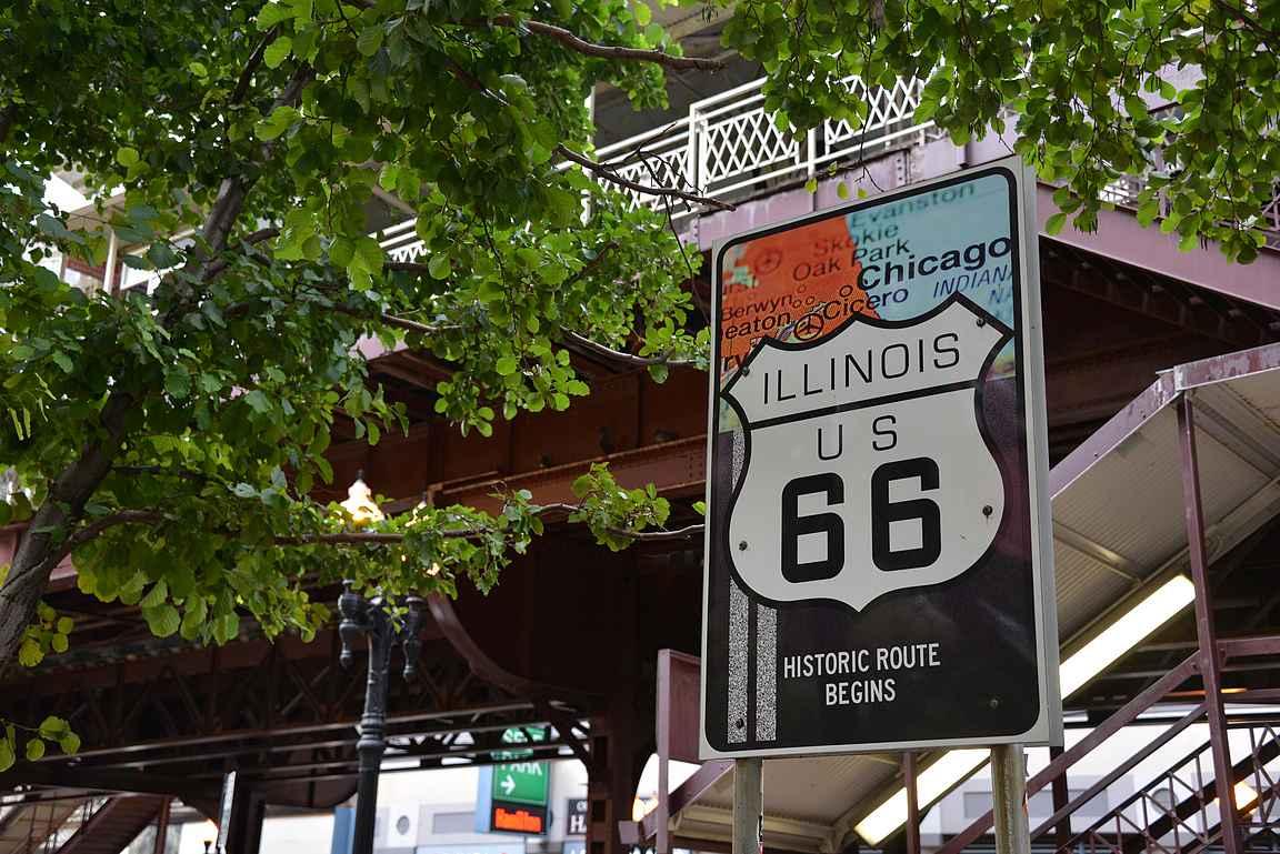 Loopin metrosiltojen alta starttasi aikoinaan myös legendaarien Route 66.