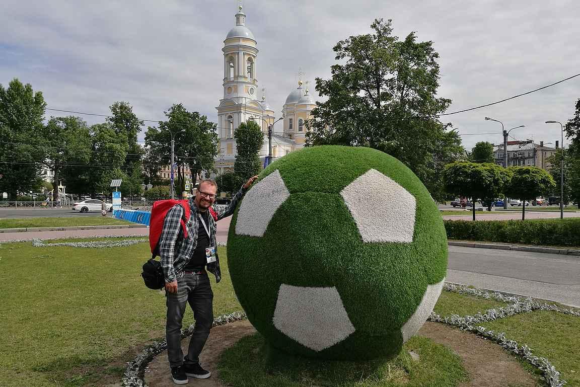 Kesällä 2020 jalkapalloturistit valloittavat taas Pietarin jalkapallon EM-kisoissa.