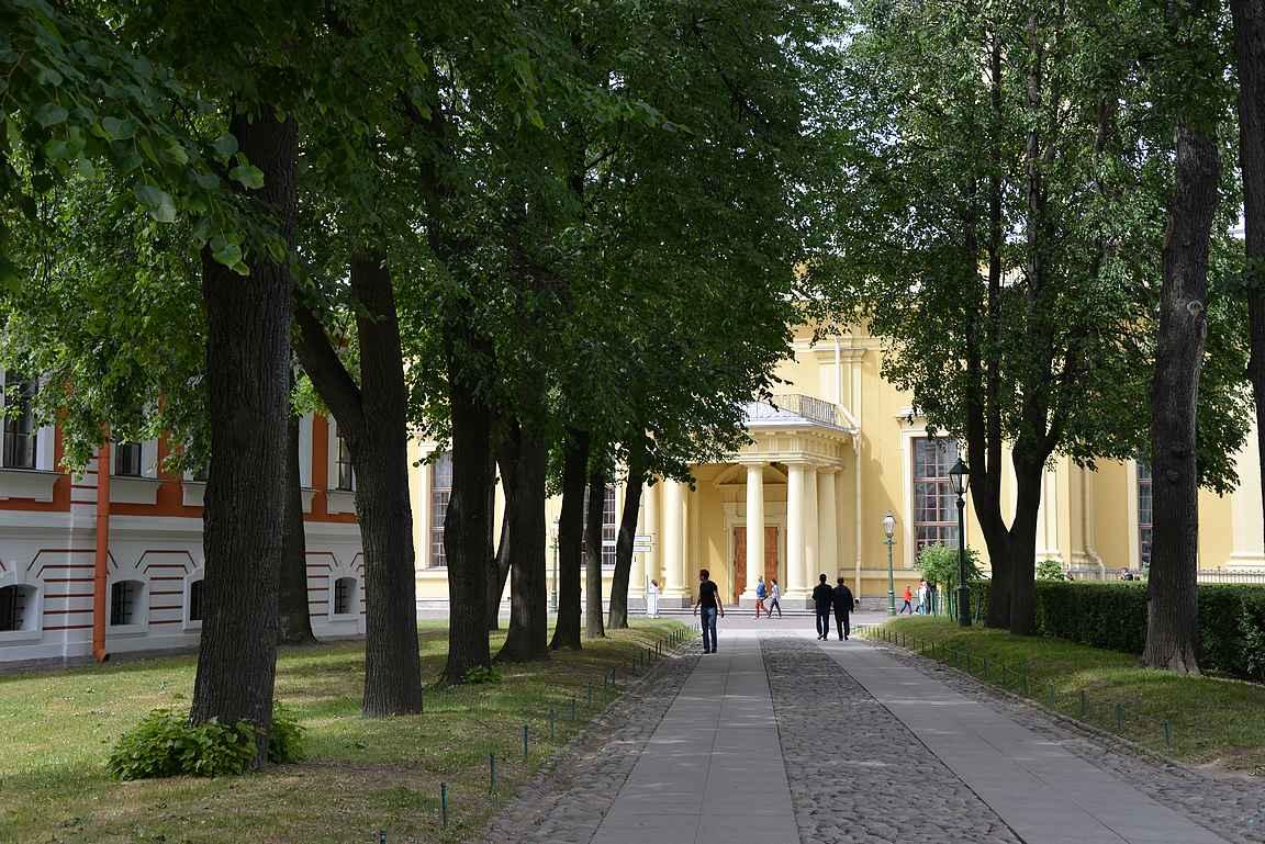 Pietari-Paavalin linnoitus on Pietarin syntypaikka.