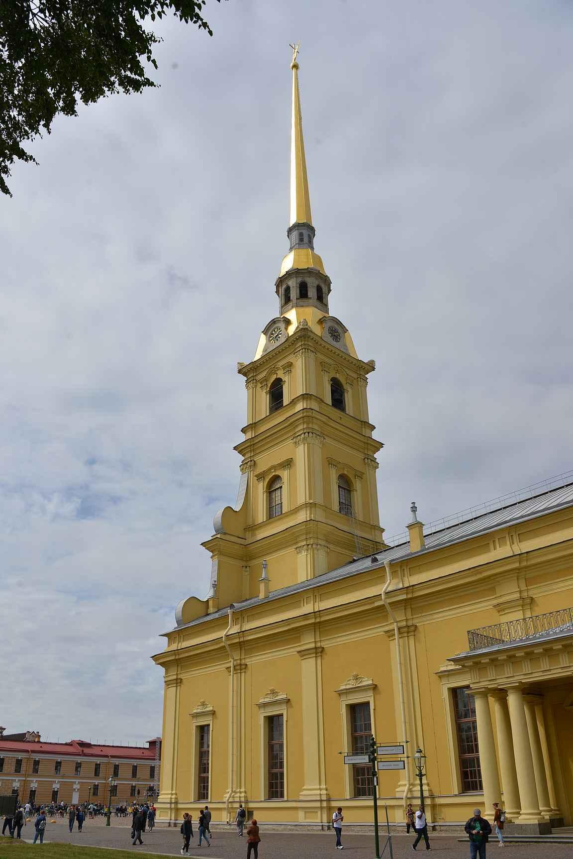 Pietari-Paavalin katedraali oli 300 vuotta Pietarin korkein rakennus.
