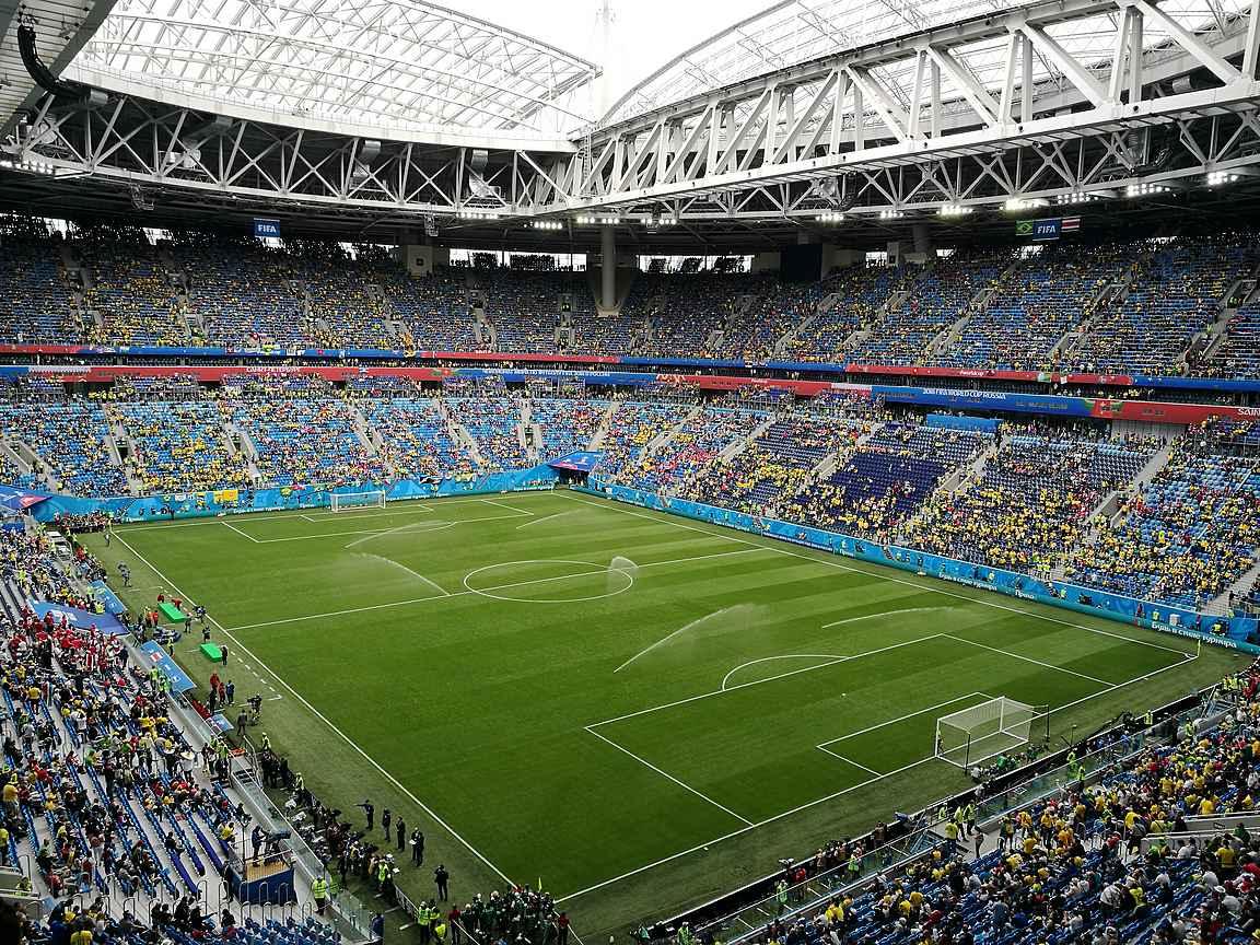 Gazprom Arena on Zenitin uusi kotistadion ja arvokisojen näyttämö.