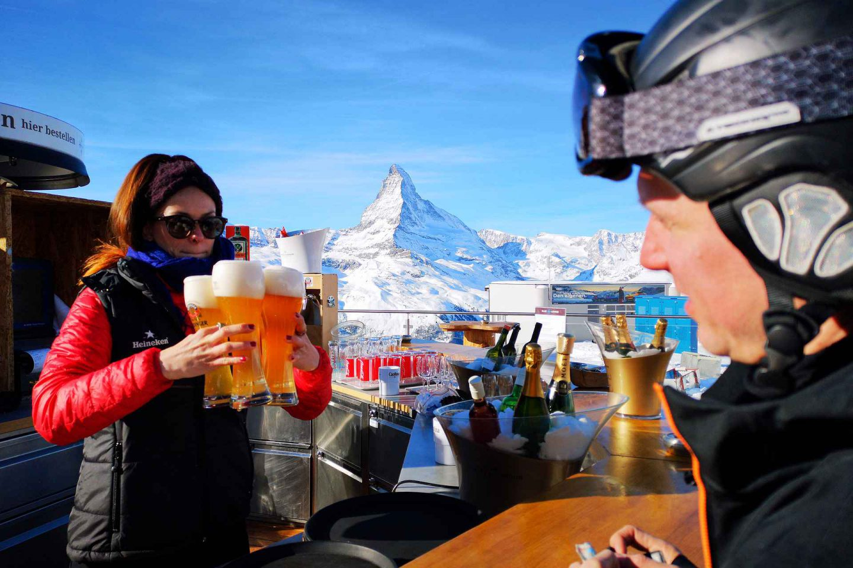 Zermatt - laskettelua Matterhornin juurella