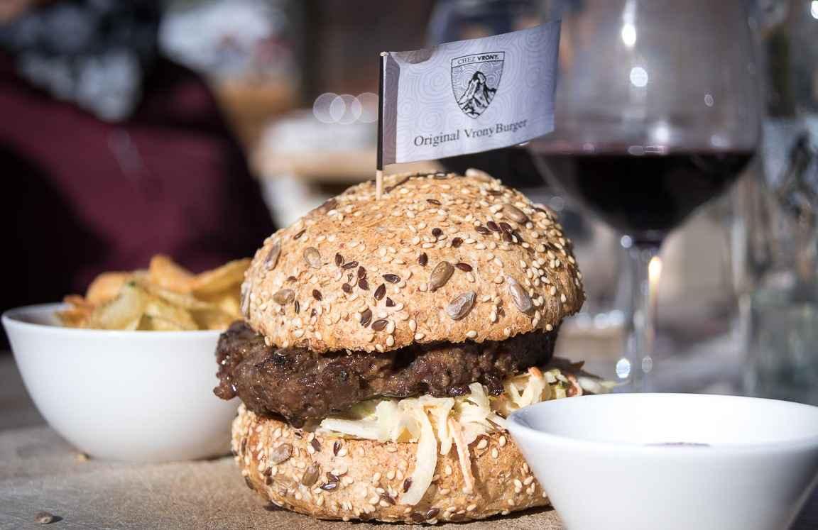 Chez Vronyn burgeri. copyright reisememo.ch