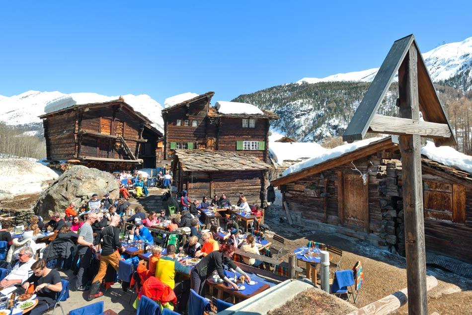 Zum See on Zermattin laadukkaimpia rinneravintoloita.