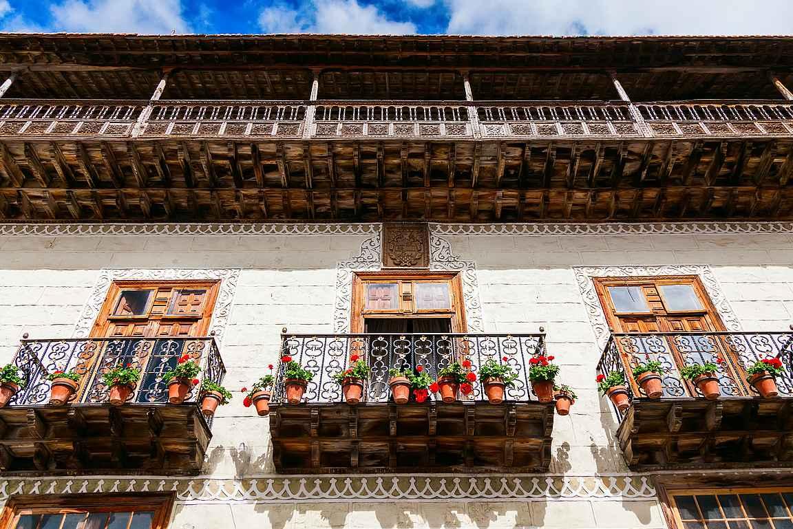 Casa de los Balcones on yksi La Orotavan arkkitehtuurillista mestariteoksista.