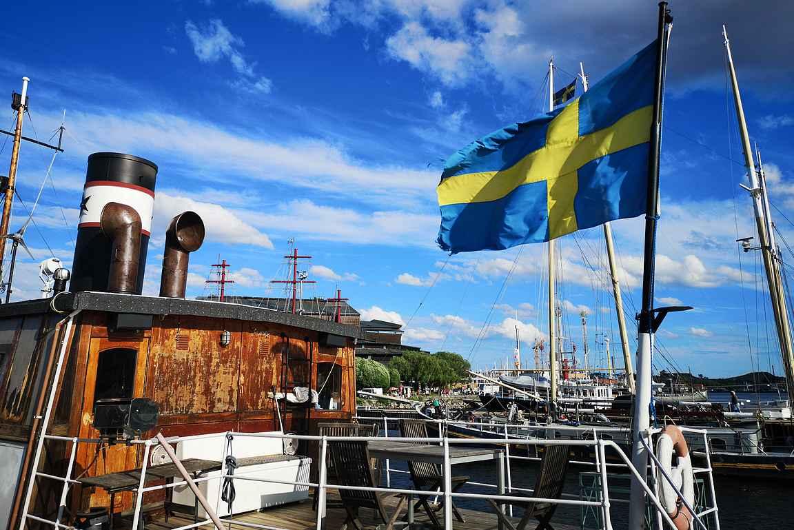 Pikainen stoppi juhannusaattoon valmistautuvaan Tukholmaan.
