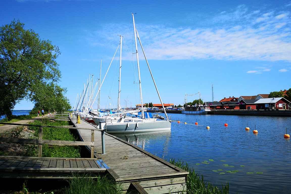 Mariestad on varsin suositeltava pikkukaupunki.