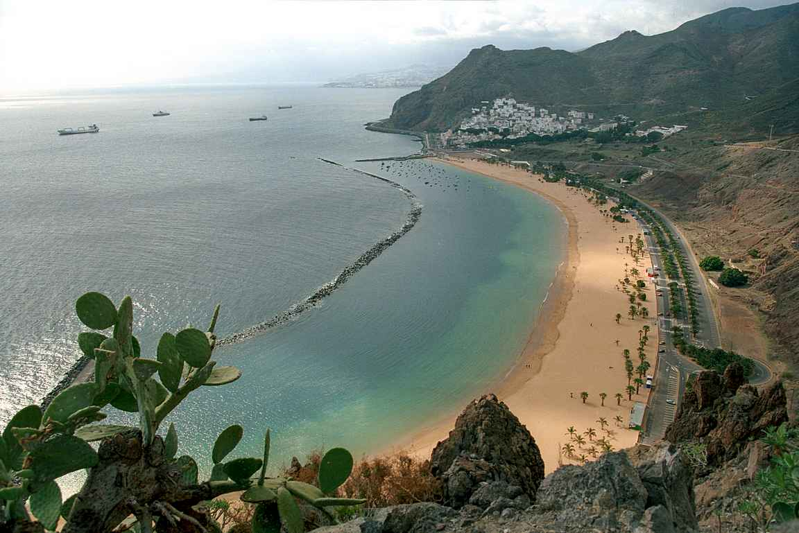 San Andrésin kylästä löytyy Teneriffan upein hiekkaranta Playa de las Teresitas. copyright Jerzy Strzelecki