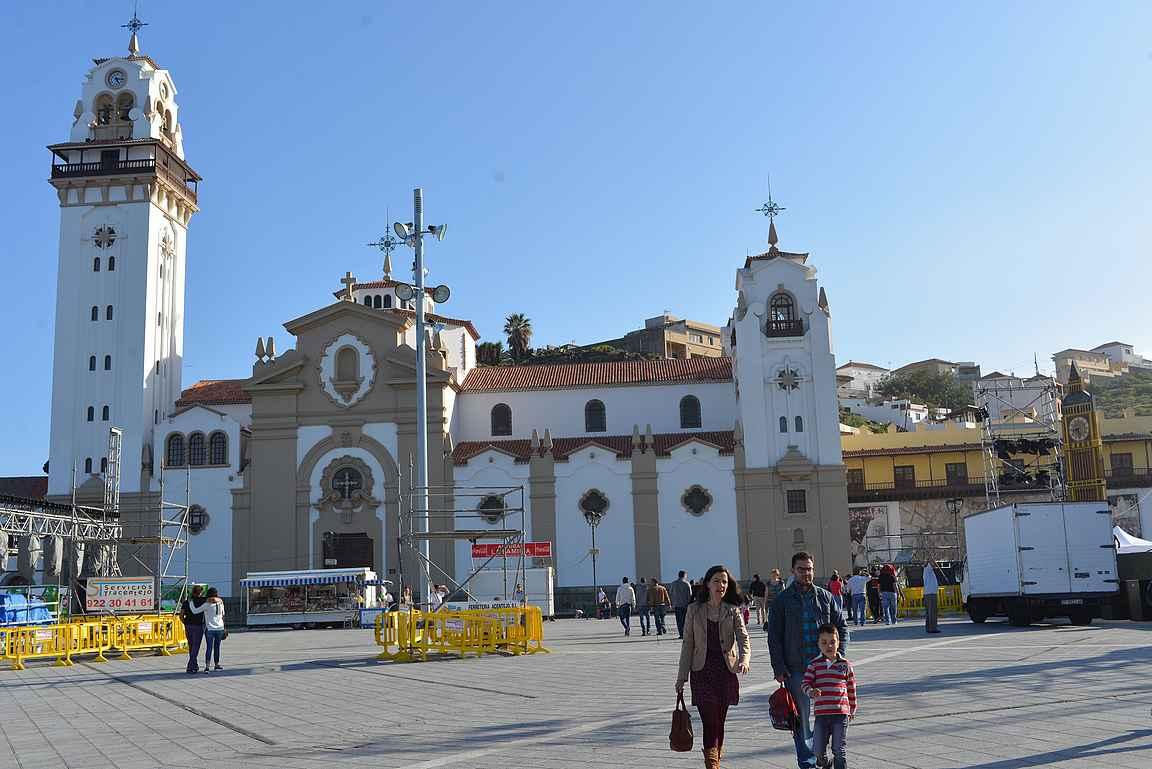 Basílica de Nuestra Señora de Candelaria.