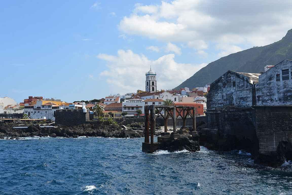 Garachico oli 1700-luvun alkuun saakka Teneriffan tärkein satamakaupunki.