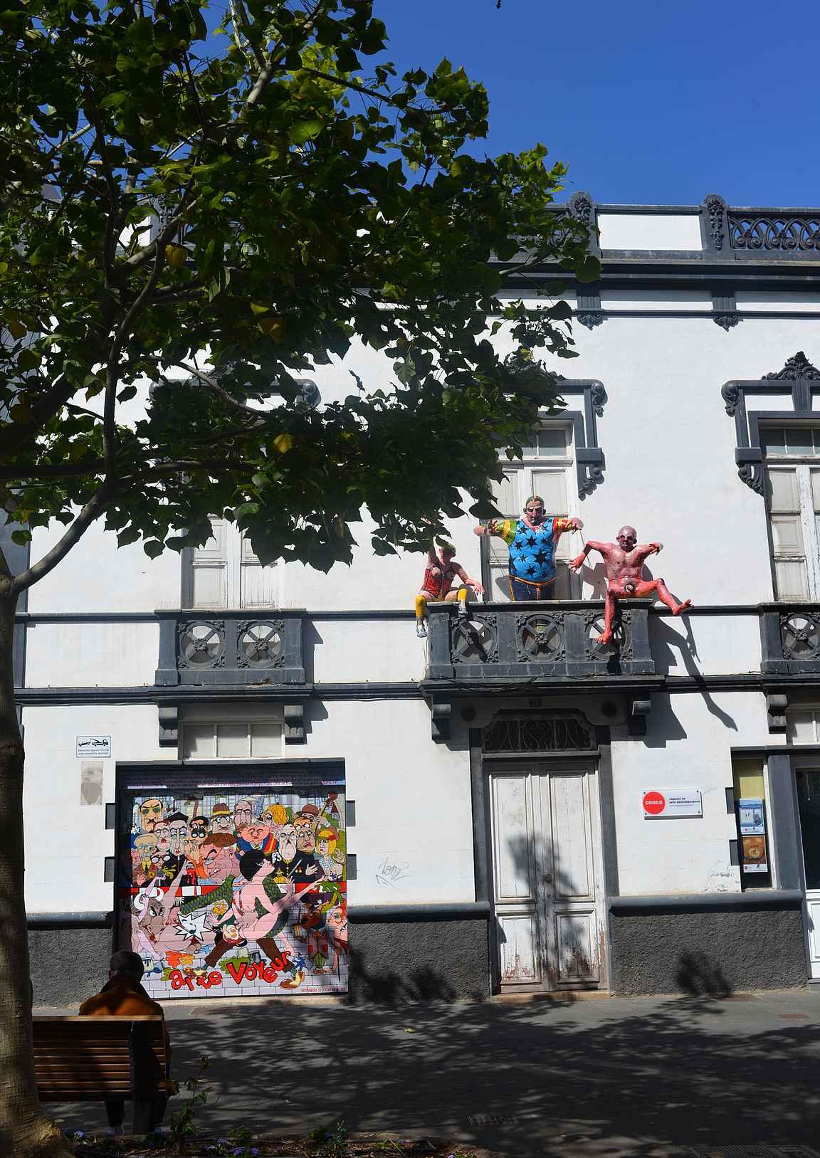 La Lagunan kaduilla on tutkittavaa upeista rakennuksista ja mielenkiintoisista patsaista lähtien.